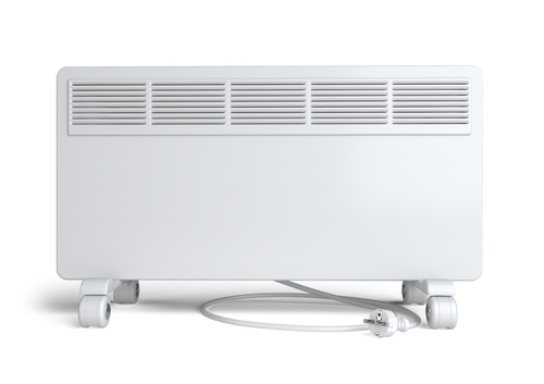 Home equipment for heating - electric convector.